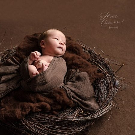 Фотосессия новорожденных от Юлии Сагань