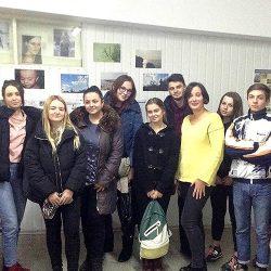 Зустріч майбутніх журналістів з Юлією Сагань