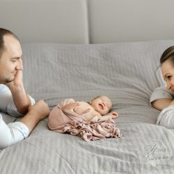 Фотосессия новорожденных. Фотограф Юлия Сагань.